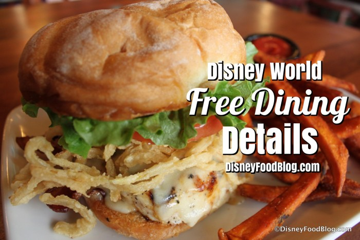 Free Dining Details Graphic