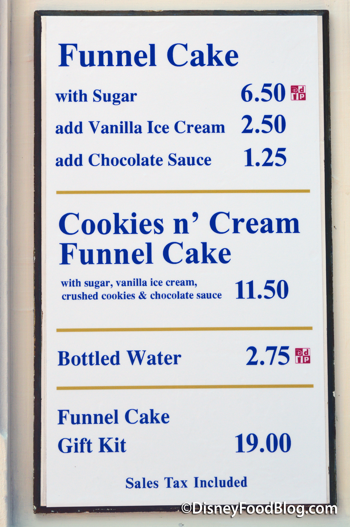 Review New Cookies N Cream Funnel Cake In Epcot S