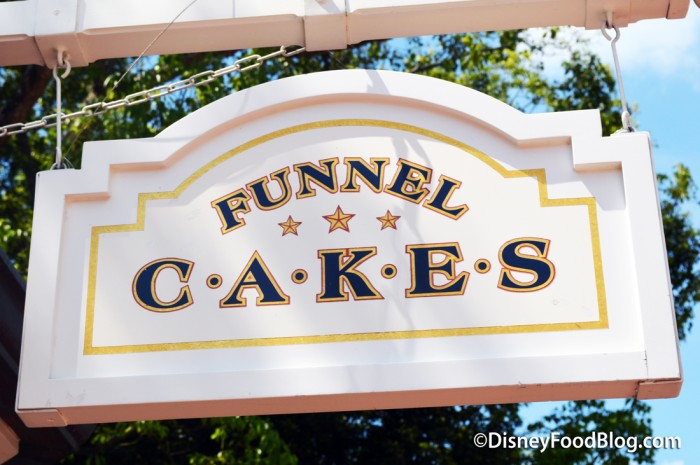 Funnel Cake Stand in the America Pavilion