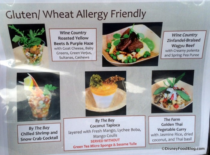 Gluten/Wheat Allergy-Friendly Items