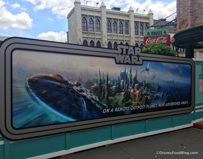 Construction Walls with Star Wars Concept Art