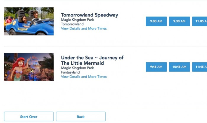 No More Wishes Nighttime Spectacular on Our FastPass Page?