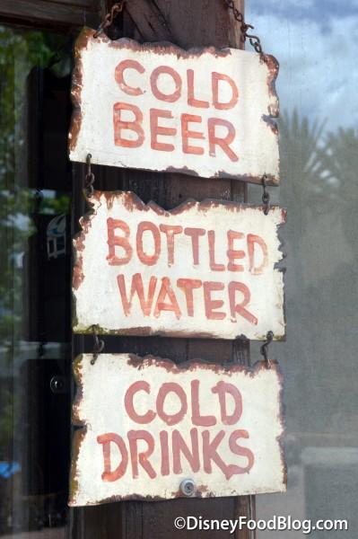 """""""Cold Beer, Bottled Beer, Cold Drinks"""""""