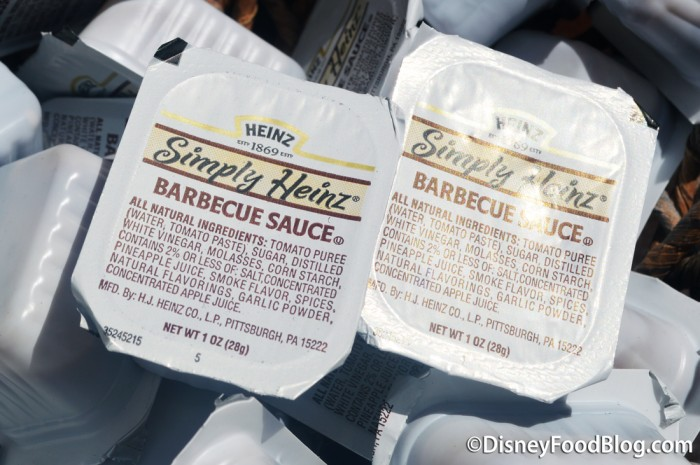 Barbecue Sauce is Also Available