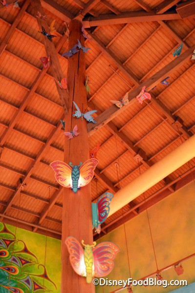 Butterflies Going Up To The Ceiling