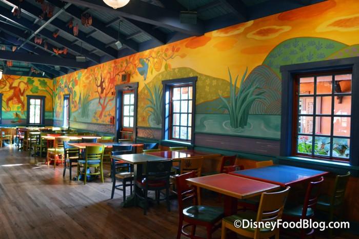Pizzafari Dining Room