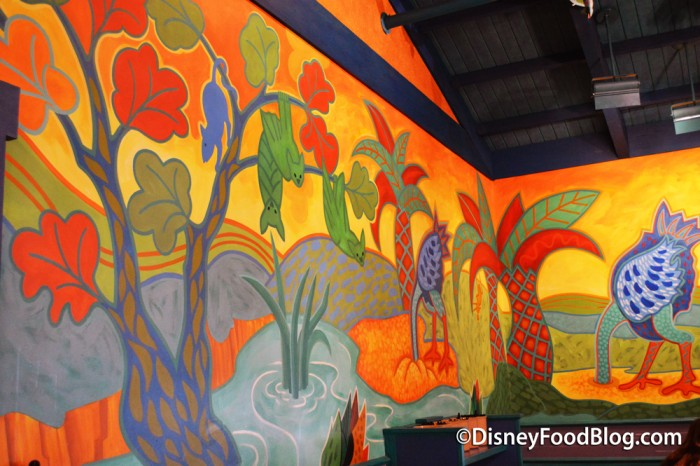 Brightly Painted Decor