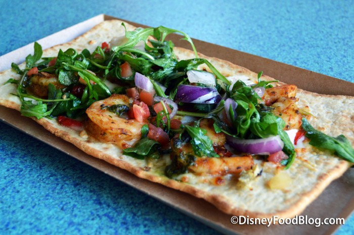 Shrimp Flatbread