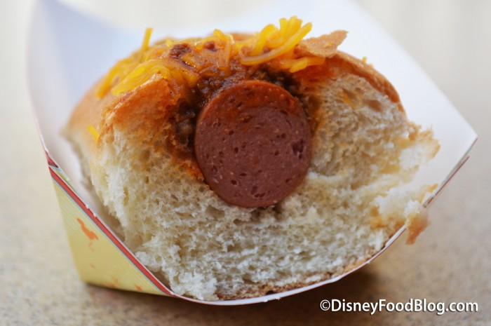 Hot Dog Cross-Section