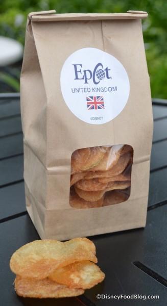 Bag of Salt & Vinegar Chips