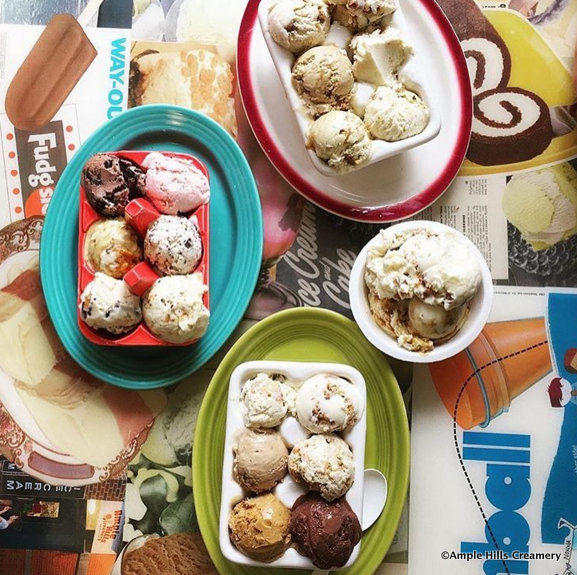 Ample Hills Creamery Ice Cream Flights