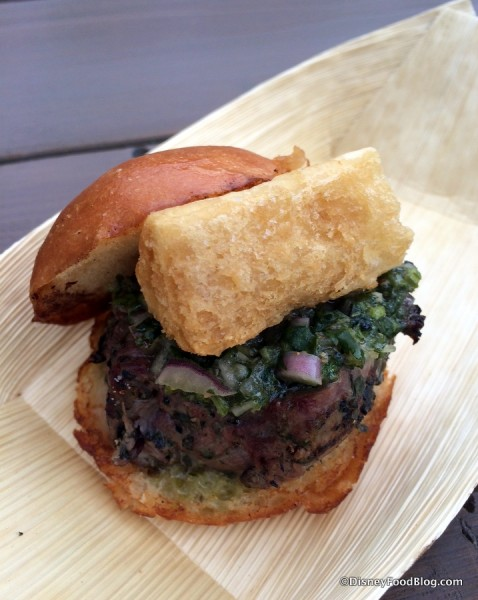 Grilled Beef Tenderloin Slider