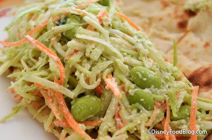 Veggie Naan Wich