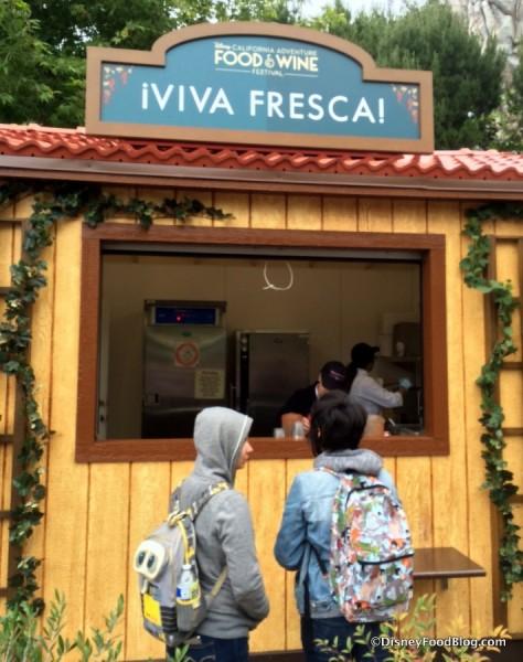 Viva Fresca Booth