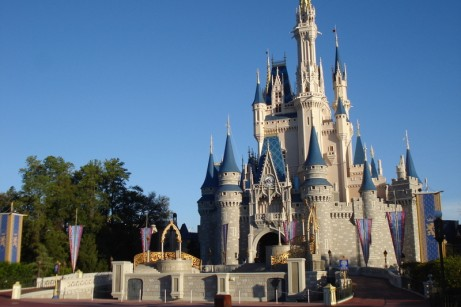 Cinderella's Castle with Stage