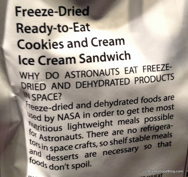 More info on the Cookies and Cream Ice Cream Sandwich Packaging