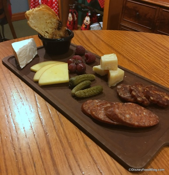 Charcuterie and Cheese Plate