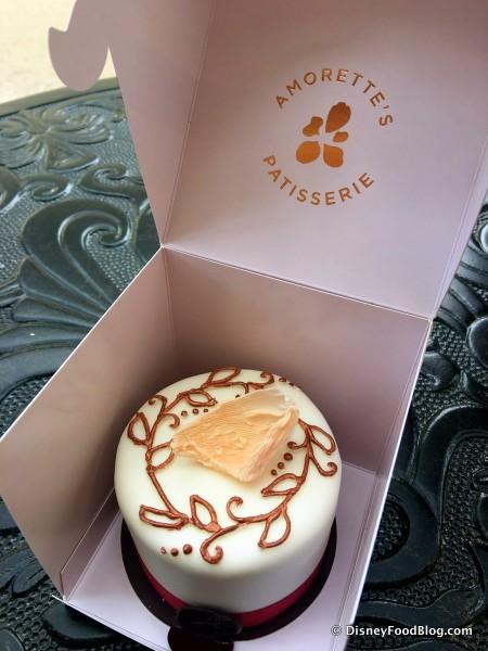 Signature Mini Cake -- Box Opened