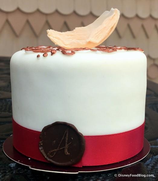 Signature Mini Cake -- Side View