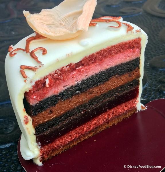 Signature Mini Cake -- Cross Section