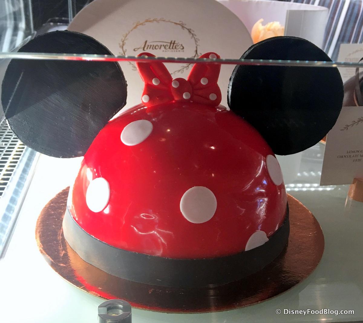 Amorettes Downtown Disney Cake Order