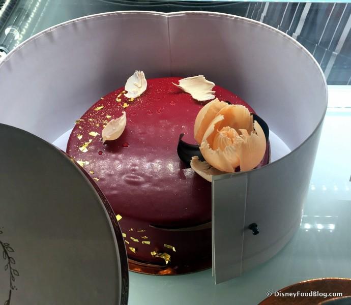 Signature Amorette's Cake -- Up Close