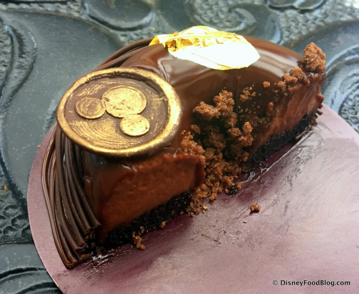 Chocolate Mousse -- Cross Section