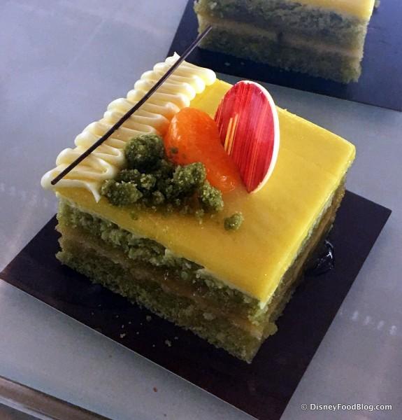 Sunrise Tokyo Bay -- Yuzu Chiffon Cake
