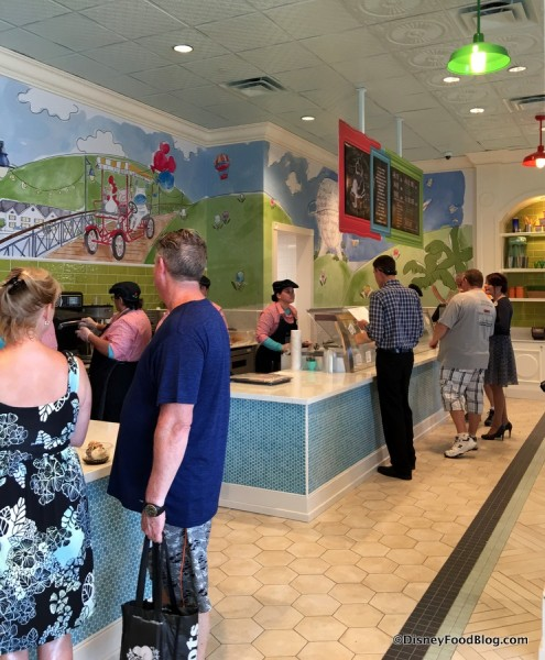 Inside Ample Hills Creamery