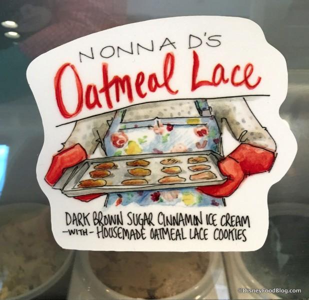 Nonna D's Oatmeal Lace