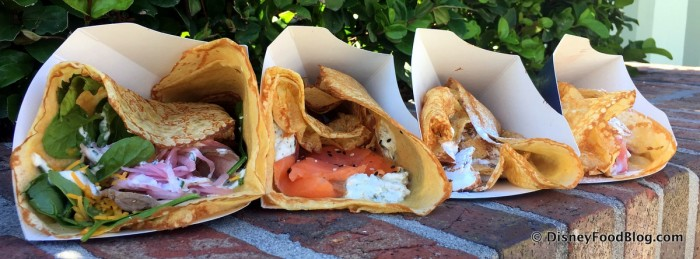 All Four Crepes in a Row