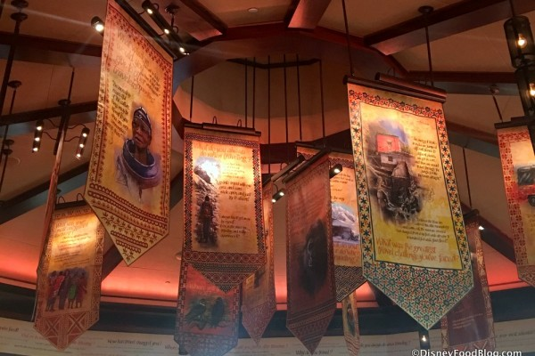 First Look! Tiffins Restaurant and Nomad Lounge at Disney's Animal Kingdom