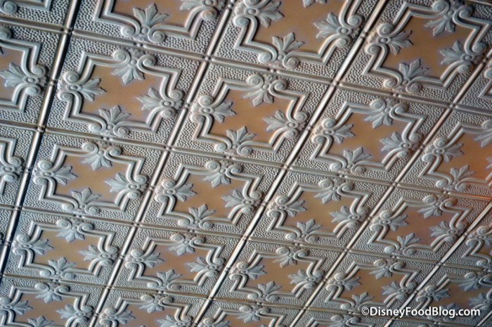 Beautifully Detailed Ceiling