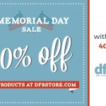 Ends Soon! Save 40% Off of the Entire DFB Store With Our Memorial Day Sale!