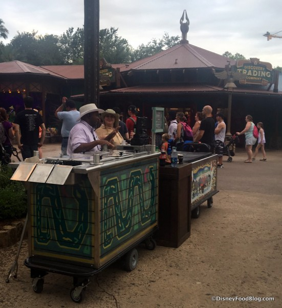 Evening Snack Cart in Discovery Island
