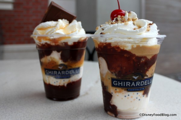 New DFB Video Review: Ghirardelli Soda Fountain and Chocolate Shop