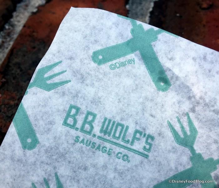 B.B. Wolf's logo paper