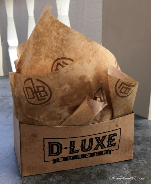 D-Luxe Burger Packaging