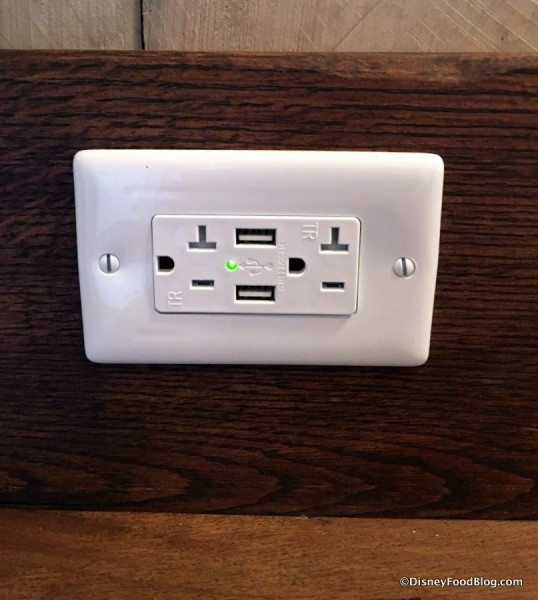 Outlets with USB Plug-ins