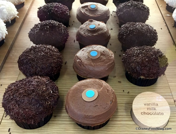 Vanilla Milk Chocolate Cupcakes