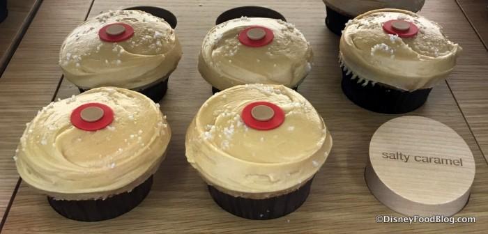 Salty Caramel Cupcakes