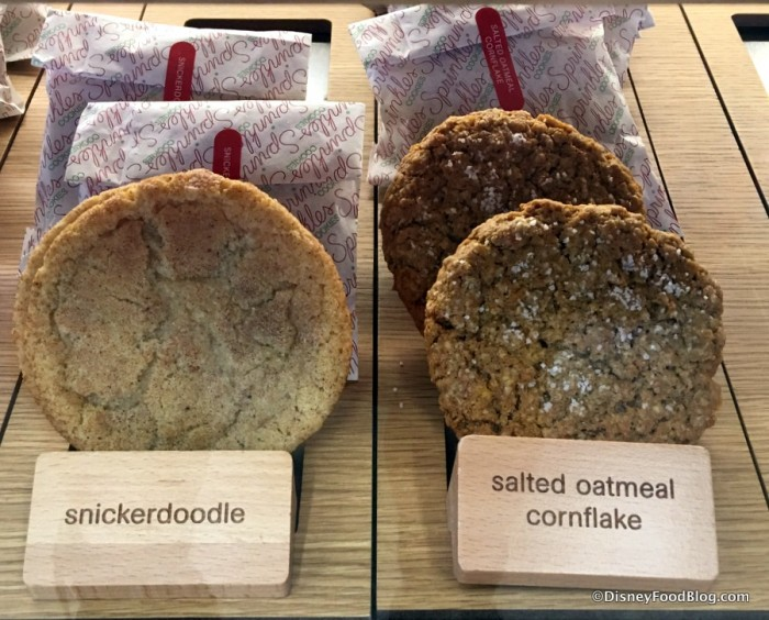 Snickerdoodle and Salted Oatmeal Cornflake Cookies