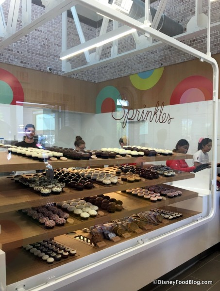 Sprinkles Bakery Case