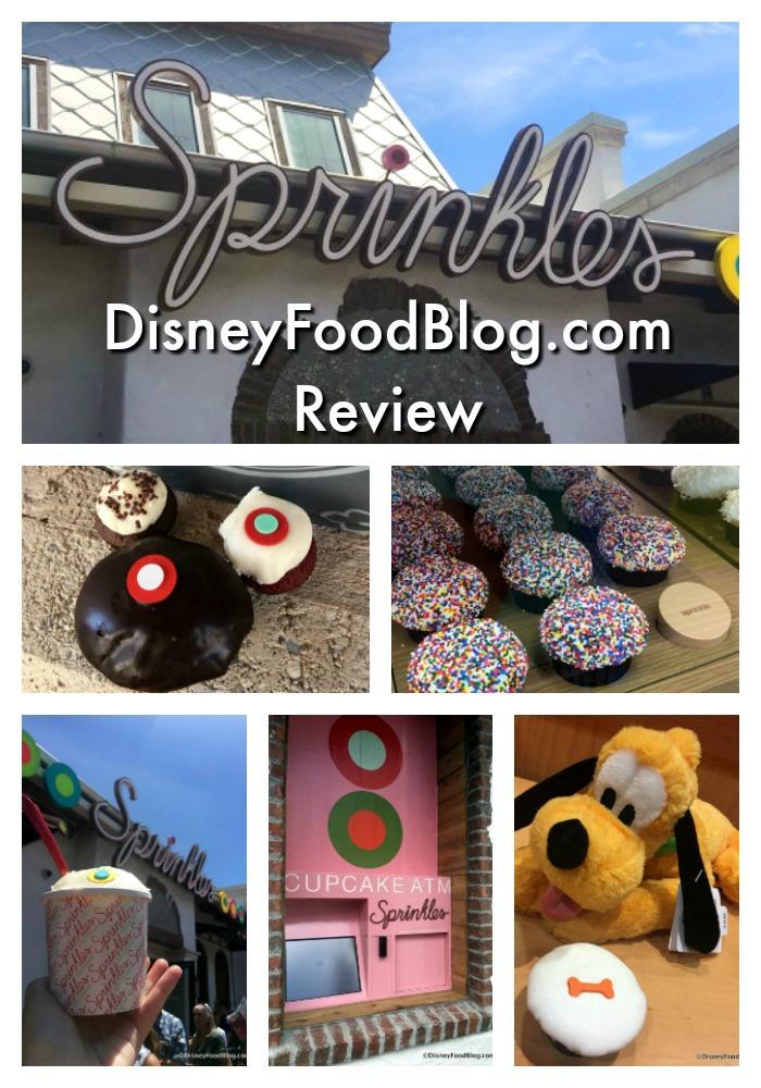 DisneyFoodBlog.com Review of Sprinkles in Disney Springs