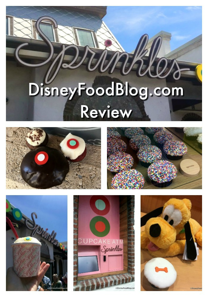 DisneyFoodBlog.com Review of Sprinkles in Disney Springs