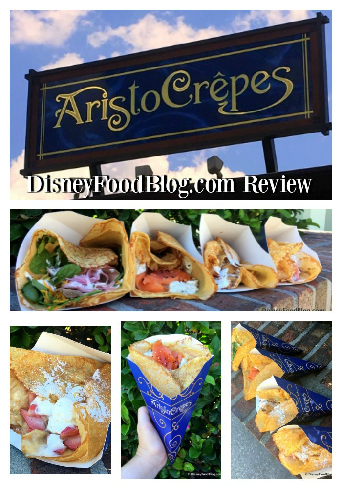 First Look and Review of AristoCrepes at Disney Springs!