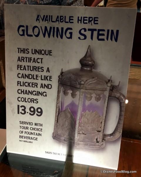 Glowing Stein