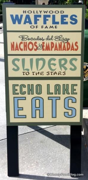 Echo Lake Eats