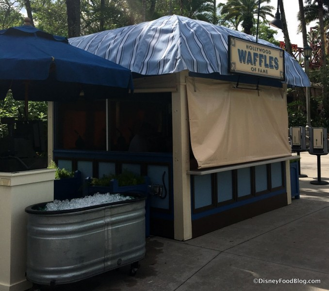 Hollywood Waffles of Fame pre-opening