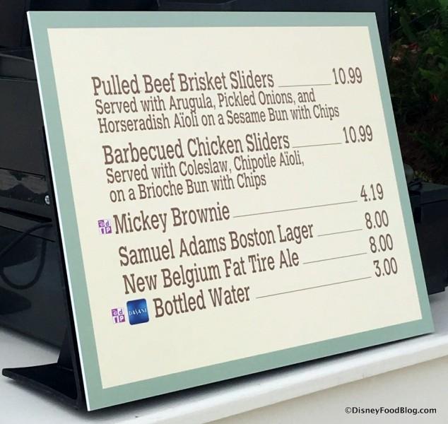 Sliders to the Stars menu